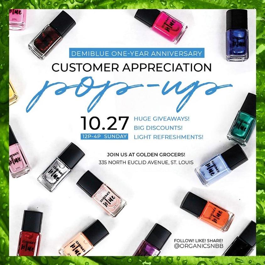 1 Yr Anniversary/Customers Appreciation Pop Up