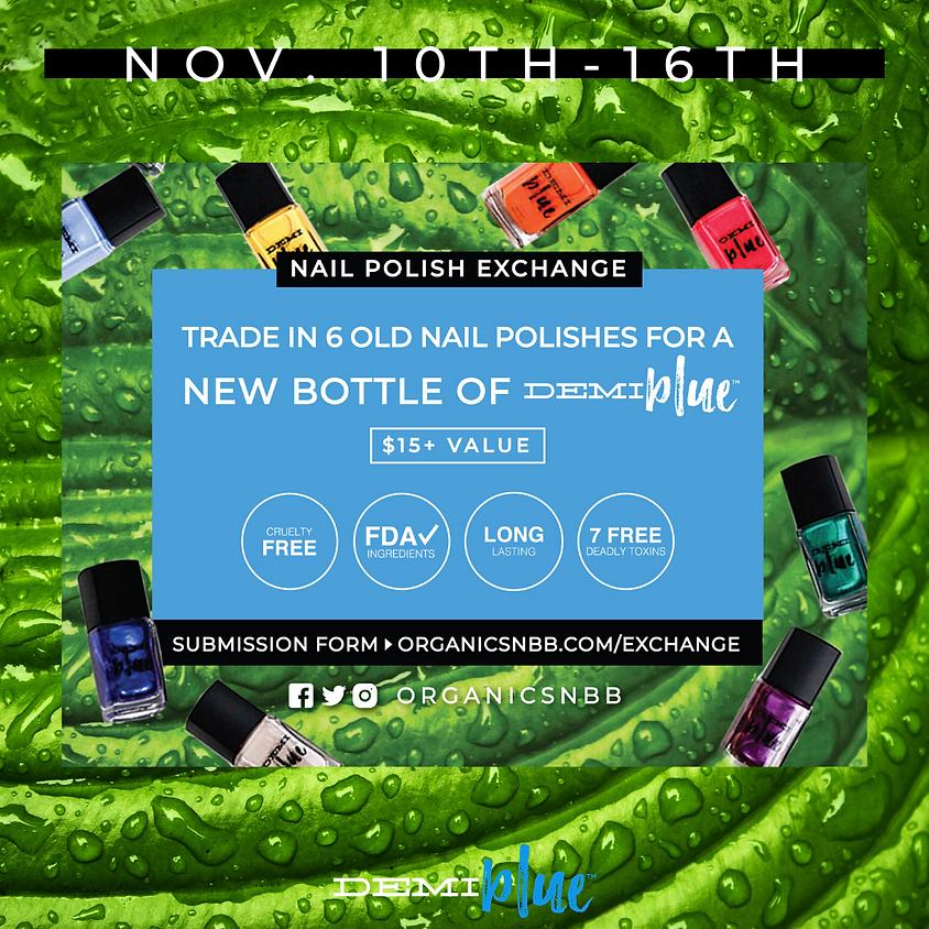 DEMIblue Nail Polish Exchange