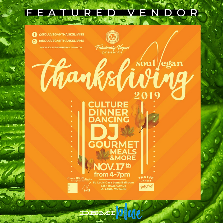 Soul Vegan ThanksLiving 2019