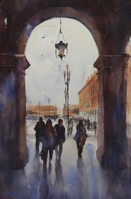 Watercolour - Europe-Sue Hibbert