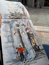 T3 Travel Sketchbook - Water and Ink