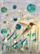 T3 Encaustic Painting and Mixed Media