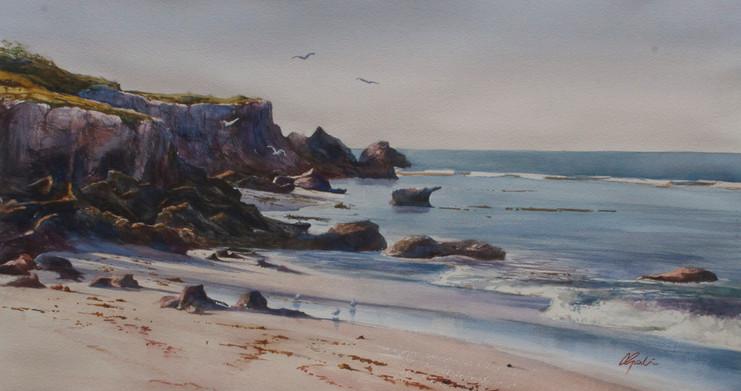Watercolours with Atmosphere -Cass Gartn