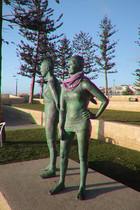 the watchers statue