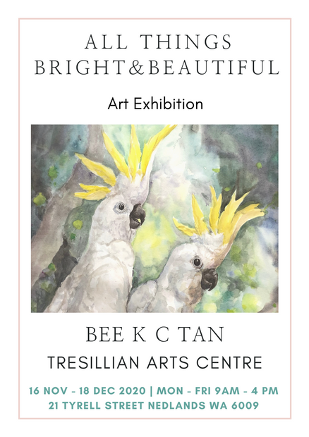 Bee Tan Exhibition Poster - All Things B