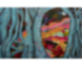 T1 Semi-Abstract Acrylic Painting