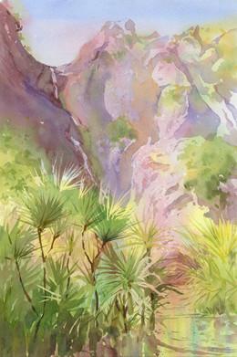 Watercolour Big brush PM - Sue Hibbert.j