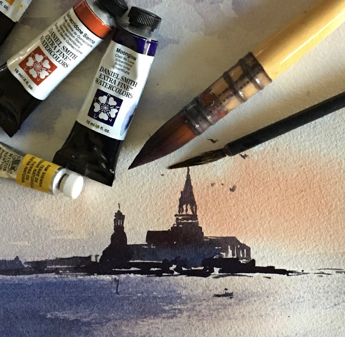 Watercolours Beginner the Next Step - Ca