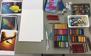 T3 Drawing with Pastels