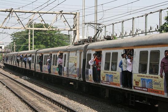 indisch Zugfahren