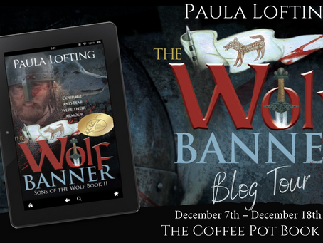 Book Spotlight: The Wolf Banner (Sons of the Wolf, Book 2) by Paula Lofting