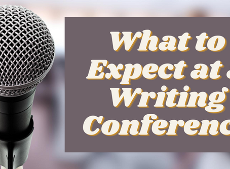 What to Expect at a Writing Conference