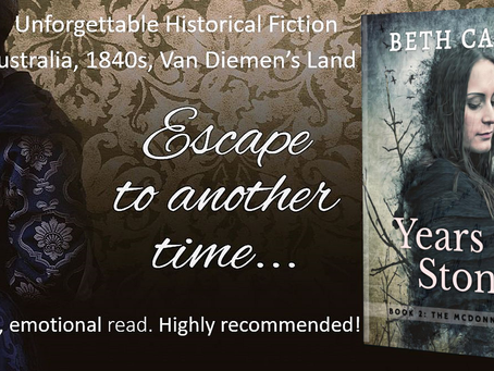 Book Spotlight: Years of Stone (The McDonnell Clan, Book 2) by Beth Camp