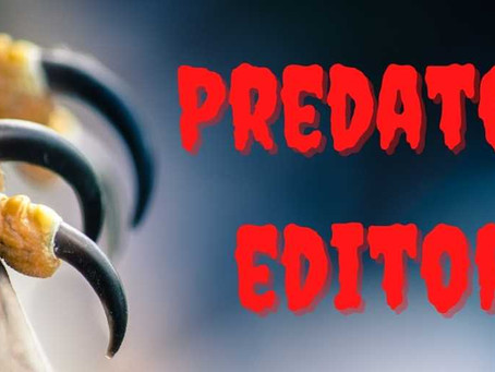 How to Avoid a Predator Editor