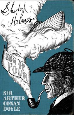 Sherlock Holmes novel cover