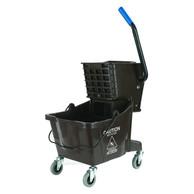 Brown Mop Bucket/Wringer Combo