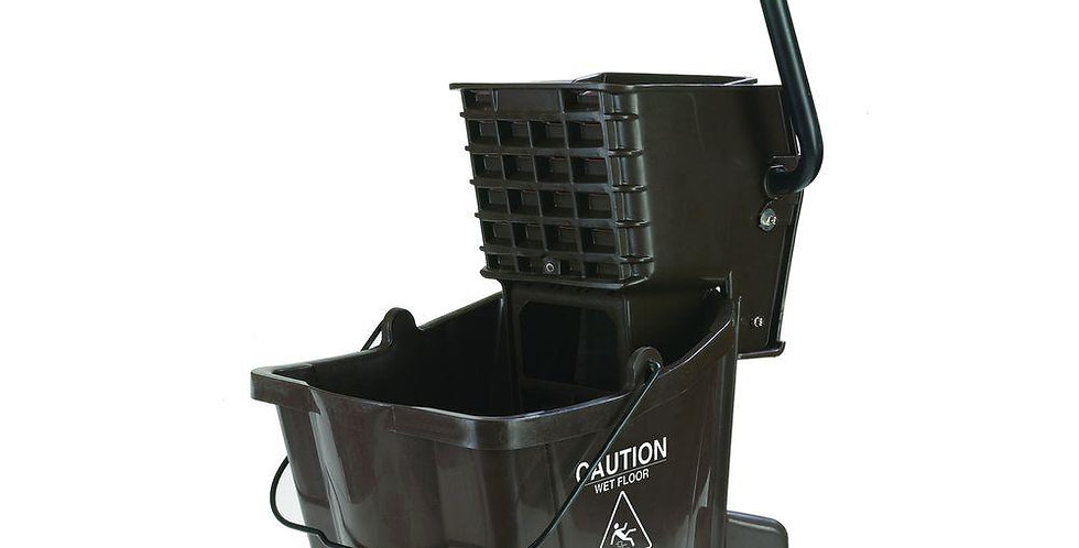 Brown Mop Bucket/Wringer Combo