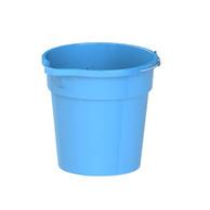 Round Plastic Bucket with Steel HandleRound Plastic Bucket with Steel Handle