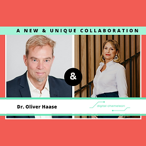 Digital Chameleon and Prof. Dr. Oliver Haase pair up to provide innovative & sustainable Ecosystem Solutions!