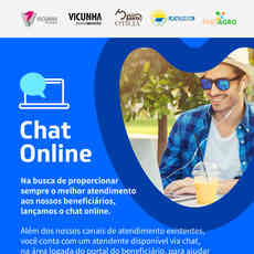 ATENDIMENTO: CHAT ON LINE