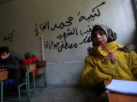 On 6th Anniversary Of Syrian War, Education Remains A Casualty
