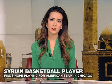 Syrian Hoops Star Flees War, With Eyes On NBA