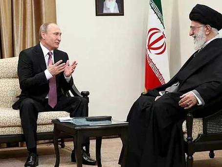 Putin Visit Highlights Growing Russia-Iran Strategic Ties