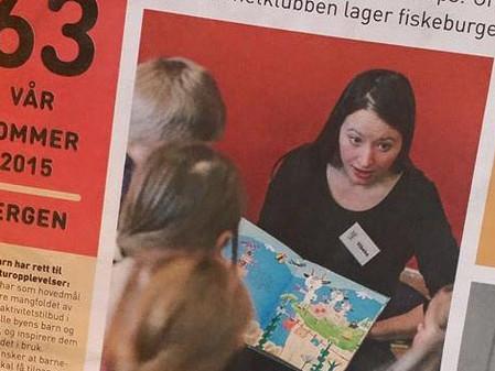 Lesestund i Oseana Kunst- og kultursenter og på Litteraturhuset