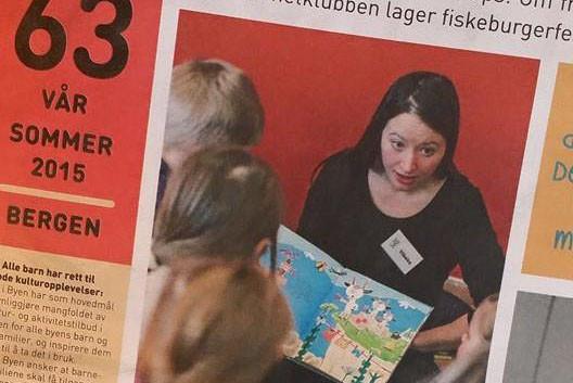 Bukkene bruse-fortelling på Litteraturhuset i Bergen, Vibeke Koehler