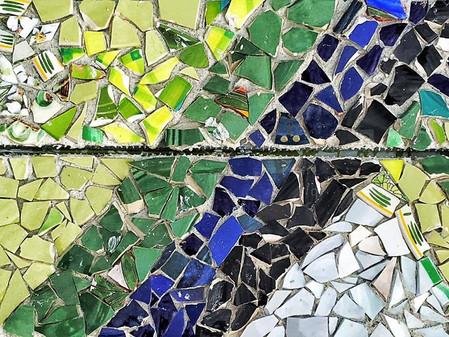 Mosaikktrappene