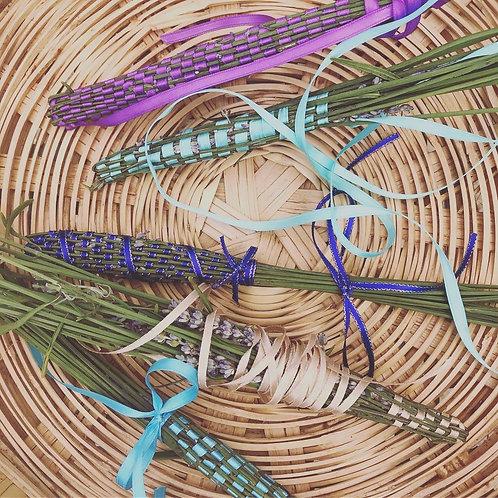 Making Lavender Wands  2:00-4:00  July 17, 2021