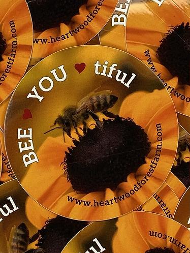 BEE YOU tiful Sticker