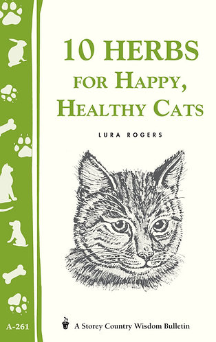 10 Herbs for Happy Heathy Cats