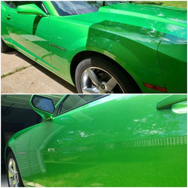 Paint Decontamination with Ceramic Coating Application