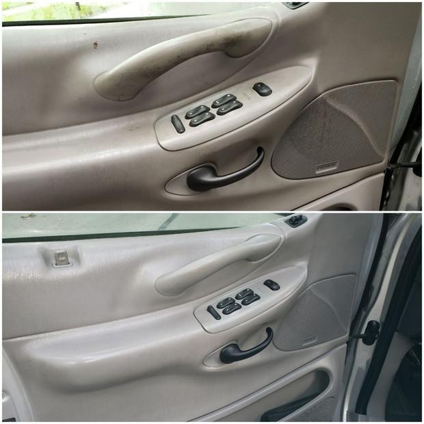 Door Panel Cleaning