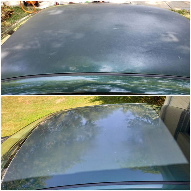 Roof Paint Correction