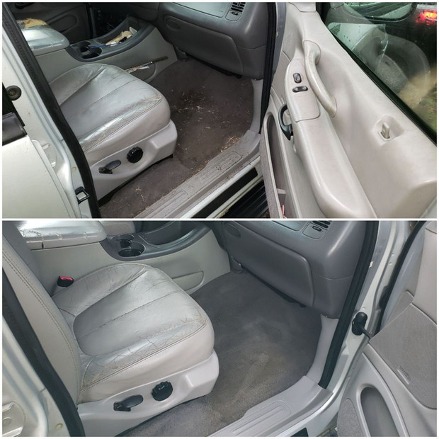 Interior Cleaning and Stain Removal