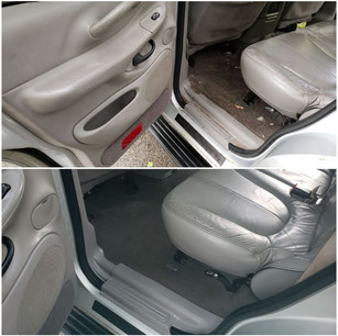 Leather, Vinyl, and Interior Cleaning