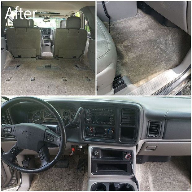 After Interior Cleaning