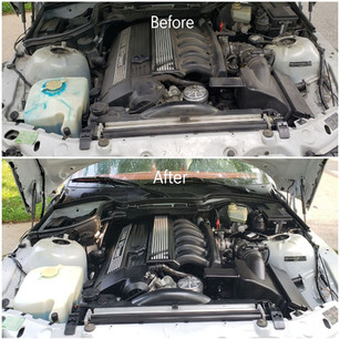 Engine Bay Cleaning