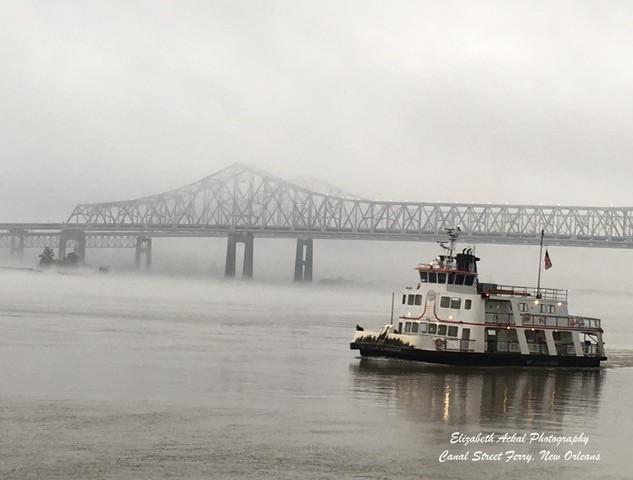 Elizabeth Ackal Photography Canal Street Ferry