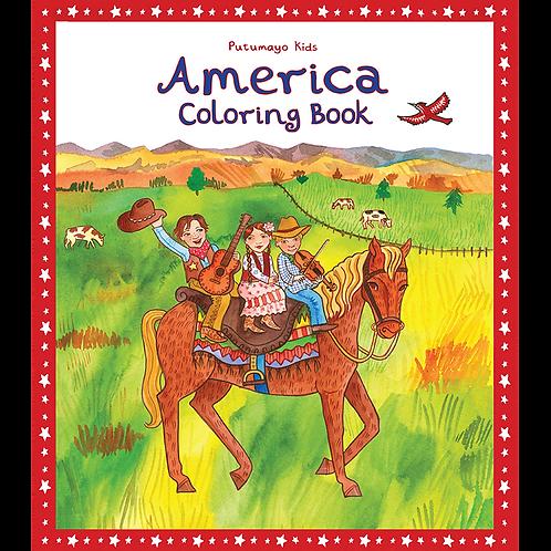 America Coloring Book