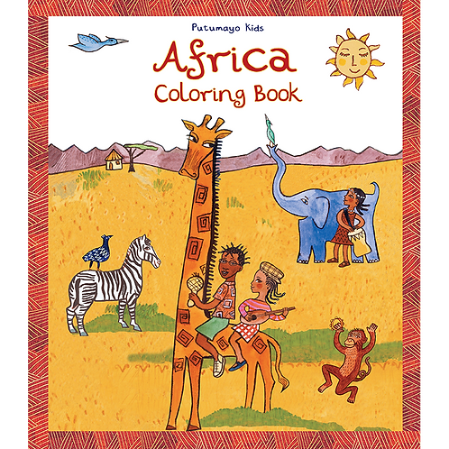 CBS-3101 - Africa Coloring Book