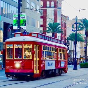 Elizabeth Ackal Photography Canal Street Streetcar