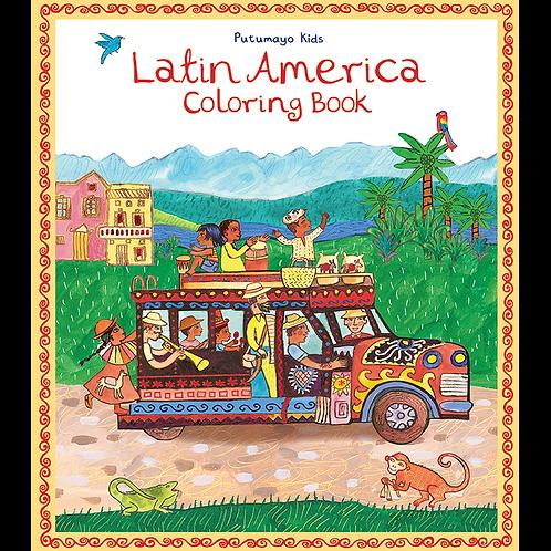 CBS 3102 - Latin America Coloring Book