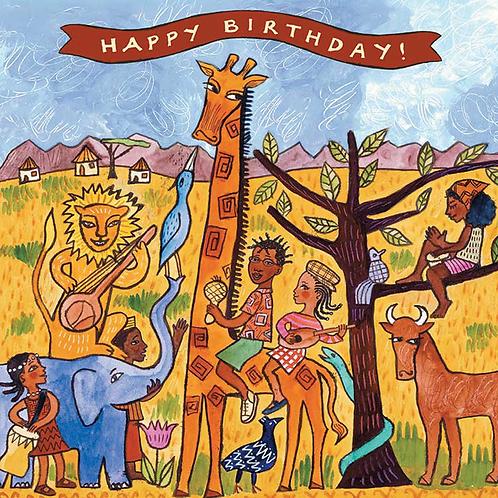 Africa Birthday
