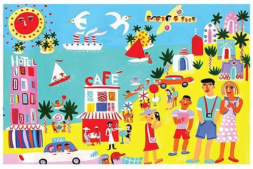 Beach Holiday - Corr