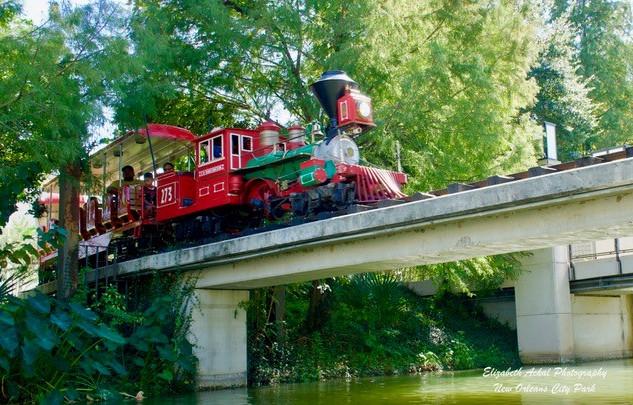 Elizabeth Ackal Photography City Park Train