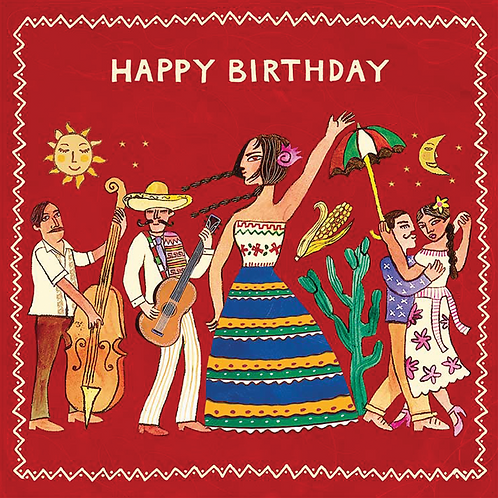 Mexico Birthday