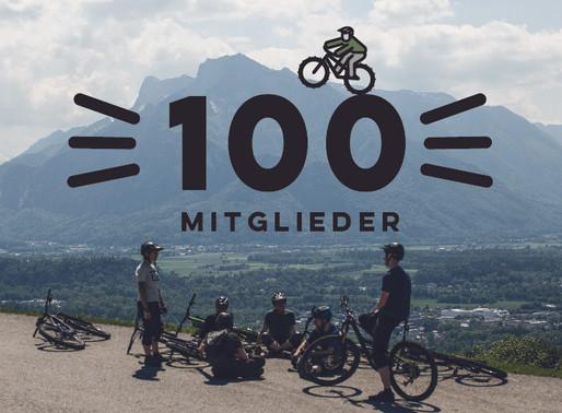 Wir feiern das 100ste Mitglied